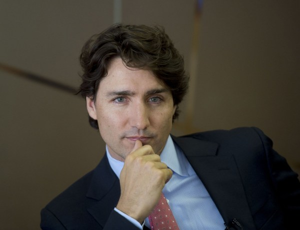Let us look at Canadian PM Justin Trudeau one more time. :) Photo from thestar.com