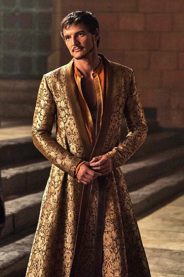 Game of Thrones' Oberyn Martell. Photo from pinterest.com