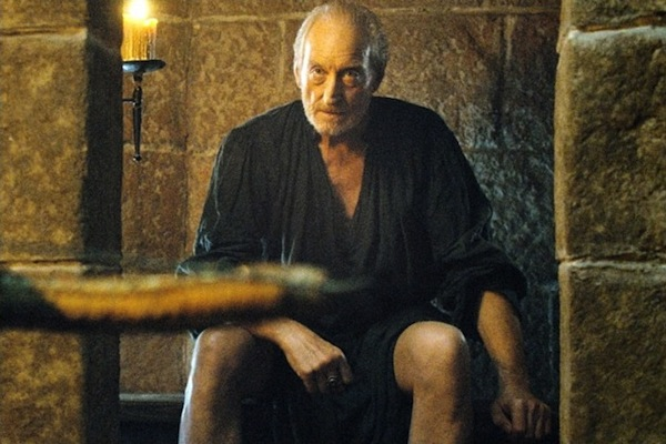Game of Thrones' Tywin Lannister on a privy. Photo from sevencrush.com