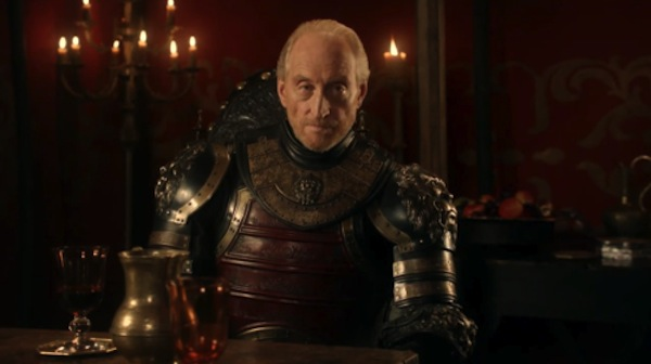 """Game of Thrones' Tywin Lannister showed the meaning of """"if looks could kill"""". Photo from viraltemperature.com"""