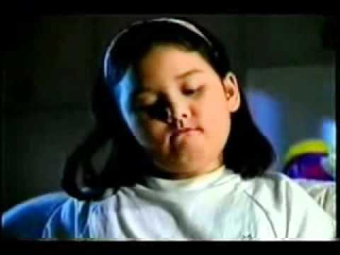 "The girl in Purefoods Tender Juicy Hotdog commercial, ""Goodbye, Carlo"". Photo from youtube.com"