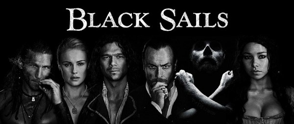 Starz's Black Sails Season 1 poster. Photo from spoilertv.com