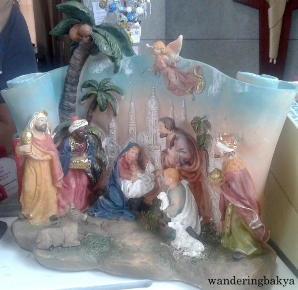 Belen available at the souvenir shop of Manila Cathedral