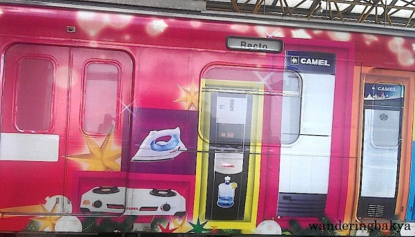 Camel appliances as advertised on LRT Line 2.