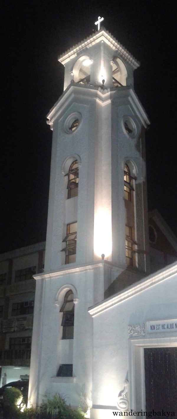 The belfry of Saint John the Baptist Parish or Pinaglabanan Church