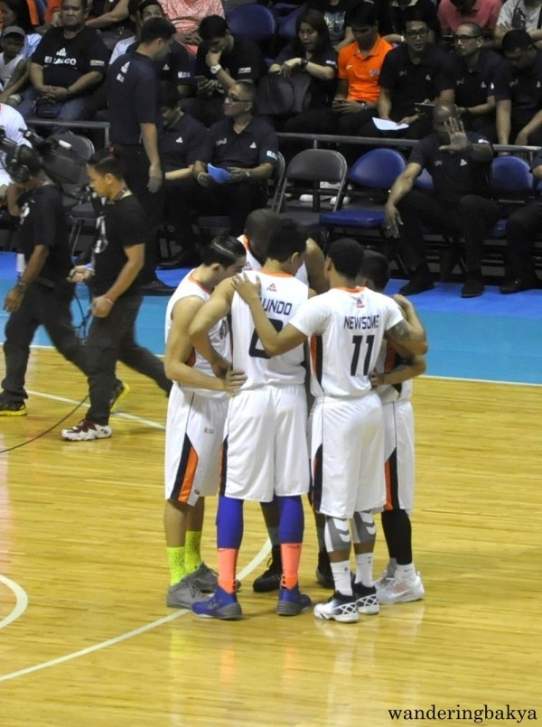 First five of Meralco Bolts