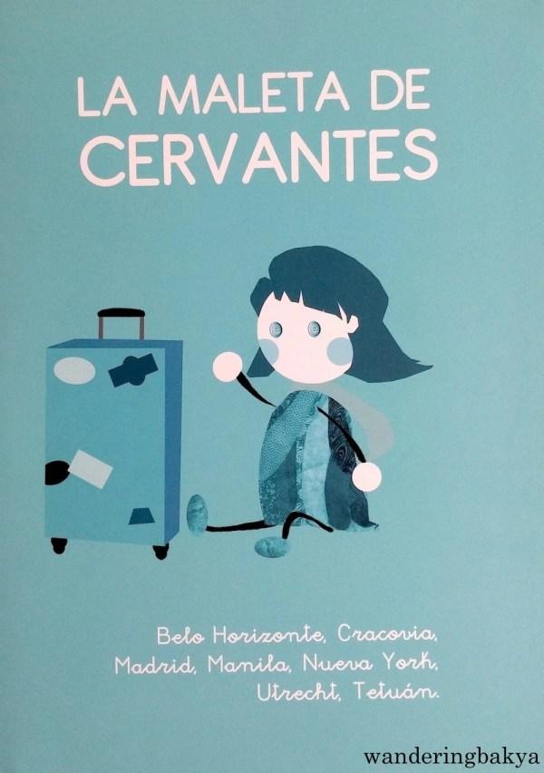 The cover of La Maleta de Cervantes