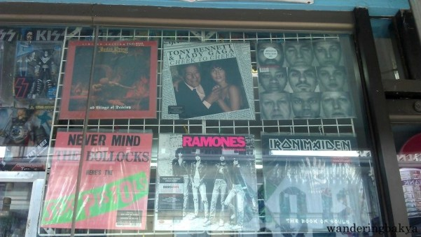Found on the display window of Vinyl Dump