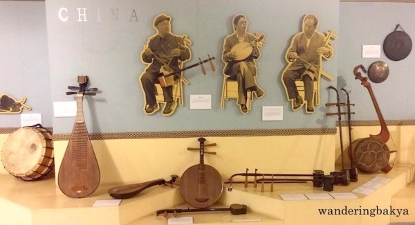 Cultural Center of the Philippines' collection of Chinese Traditional Musical Instruments