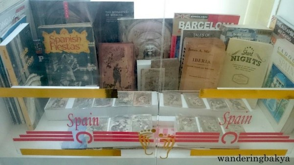 Some of the Spanish books found at The Book Museum. Photo by SPRDC.