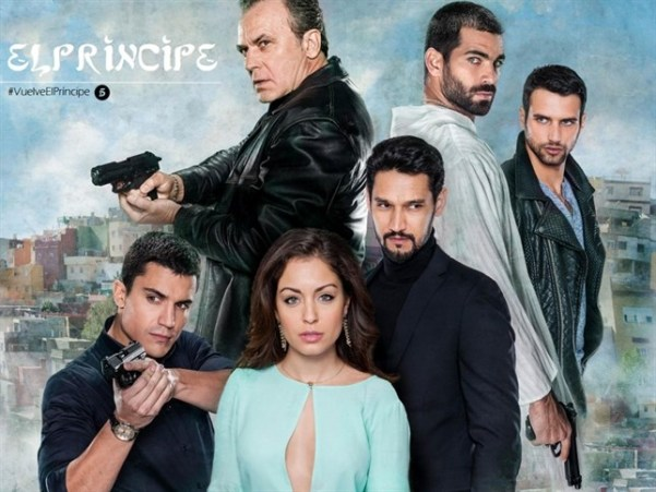 The cast of El Príncipe – Season 2. Photo from europapress.es