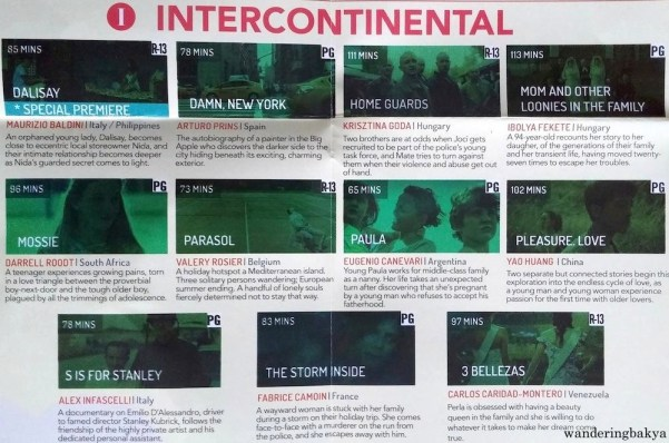 World Premieres Film Festival 2016 Intercontinental films