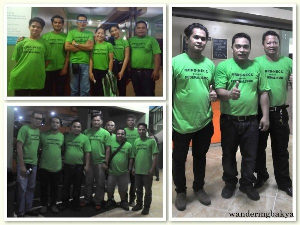 Members of MRRD NECC and Philippine Seafarer's Group (PSG).