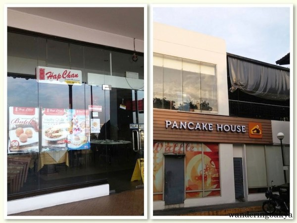 Hap Chan and Pancake House in Harbour Square