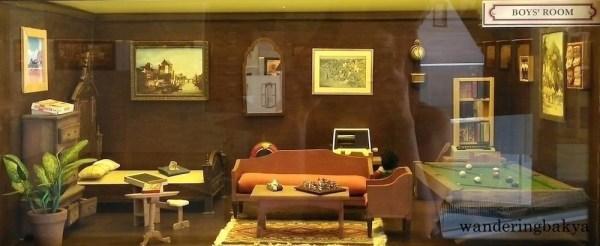 Miniature boy's room