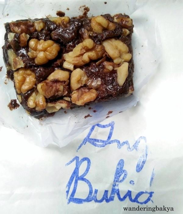 Gng. Bukid Walnut Brownie