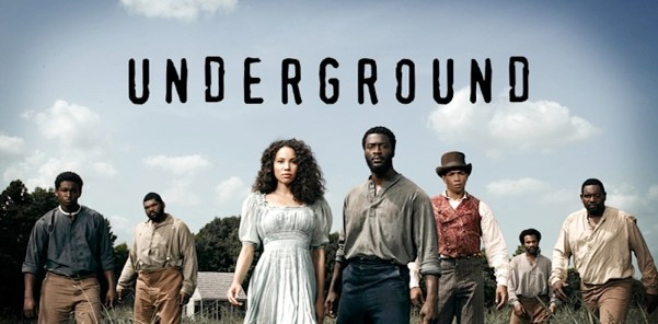 Poster of WGN's Underground – Season 1. Photo from nerdreactor.com