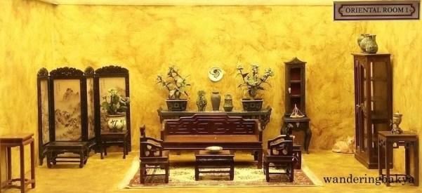 Miniature Oriental room 1