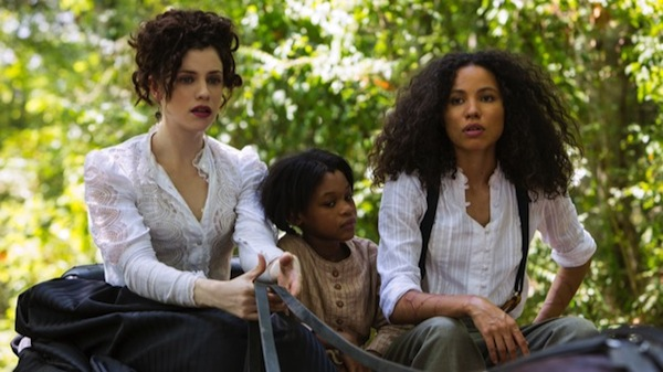 Underground exhibits girl power with Elizabeth Hawkes (Jessica de Gouw), Boo (Darielle Stewart) and Rosalee (Jurnee Smollett-Bell). Photo from pastemagazine.com