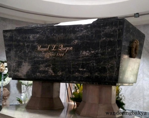 The remains of President Manuel L. Quezon found their final resting place in Quezon City. The base of the Quezon Memorial Shrine holds the sarcophagus that contains the remains of Manuel L. Quezon.