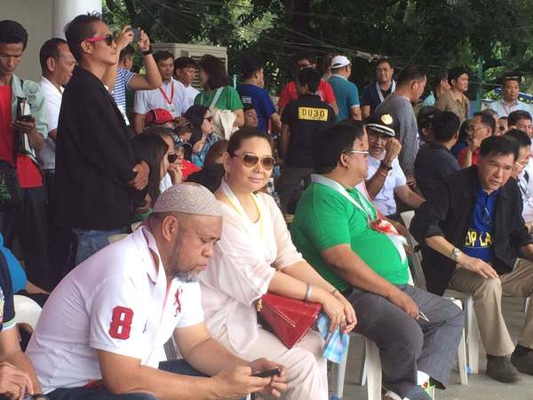 DDS Metro Manila Chairman Suayli and Ms. Malou Luy. Photo by Miley Tray