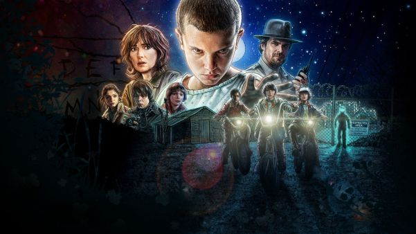 Stanger Things poster. Photo from Netflix.com