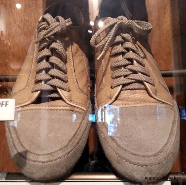 Shoes of Film Director Joel Lamangan
