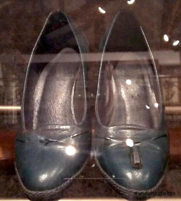 Shoes of Senator Miriam Palma Defensor-Santiago. Of course, Senator Defensor-Santiago gets the top spot. She is the pride and joy of Ilonggos like me.