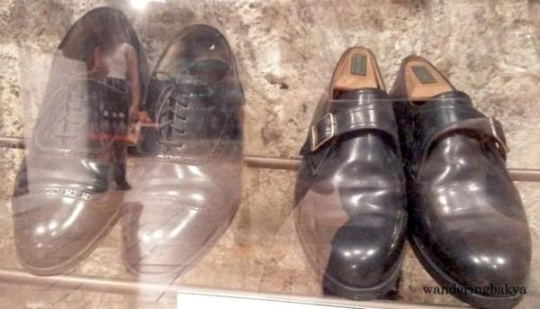 Shoes of Senator Richard Juico Gordon
