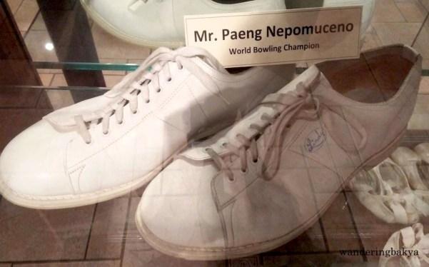 "Shoes of World Bowling Champion Rafael ""Paeng"" Nepomuceno"