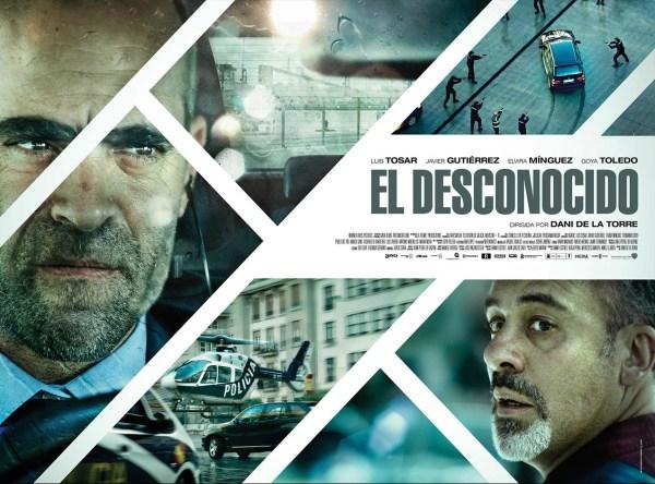 The poster of Dani de la Torre's El Desconocido (Retribution). Photo from vacafilms.com