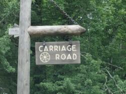 Matt Emerson WBNL Acadia NPS Carriage Road Sign
