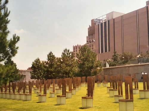 The Oklahoma National Memorial stands as a reminder that our Nation's history is filled with a wide variety of stories