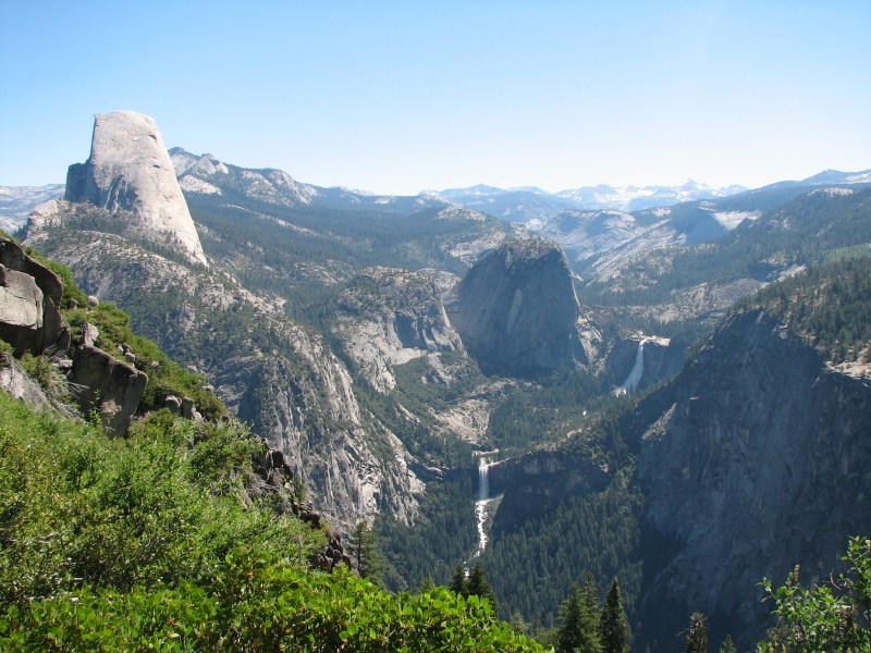 Spectacular Views from Yosemite's Panorama Trail