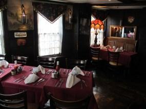 Matt Emerson WBNL Boston Warren Tavern Dining Room