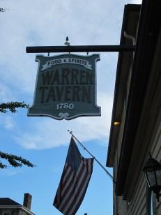 Matt Emerson WBNL Boston Warren Tavern Sign