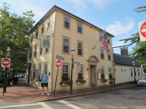 At the Warren Tavern You Can Sip Your Grog in the Footsteps of our Forefathers!
