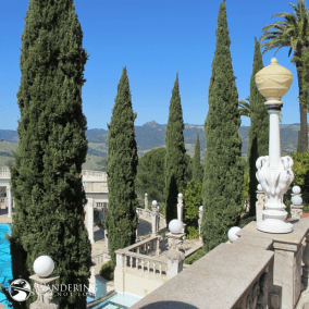 Matt Emerson WBNL Hearst Castle - Above the Pool House