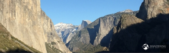 Wandering But Not Lost Yosemite Valley