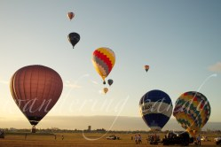 February: Hot Air Balloon Ride at Clark.