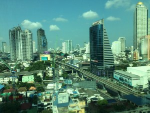 Hotel view Sathorn Road