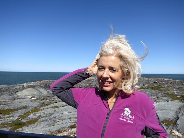 Wandering Carol in Churchill Manitoba Canada