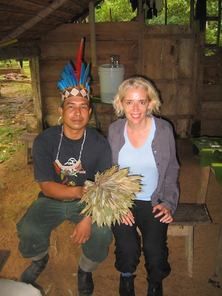 Amazon shaman and my shamanic healing WanderingCarol.com