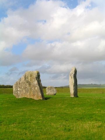 Male and female stones Avebury