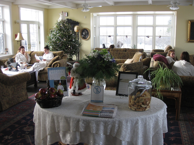 Ste Anne's Country Inn & Spa Review lounge
