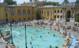 Szechenyi Baths thermal pools Hungary