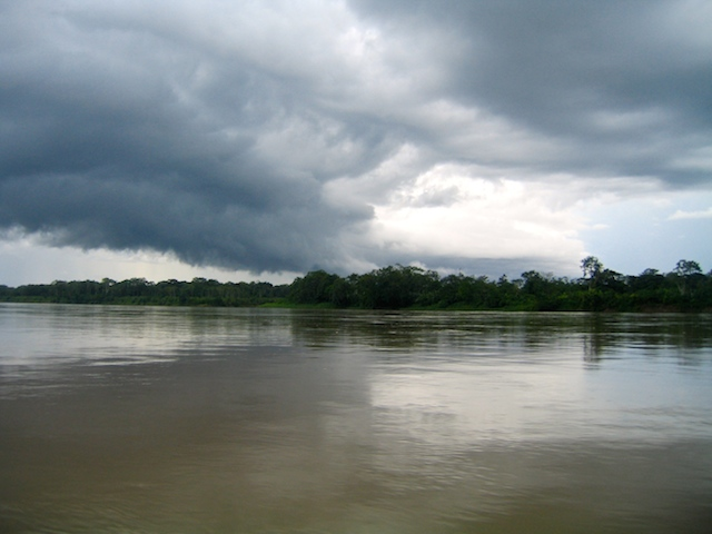 The Amazon River in Peru, my shamanic healing journey