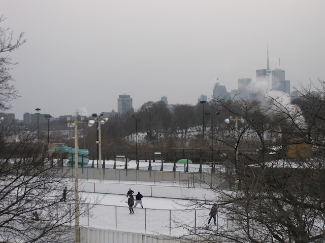 Toronto skating rinks