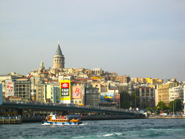 Turkey Solo Istanbul from the river