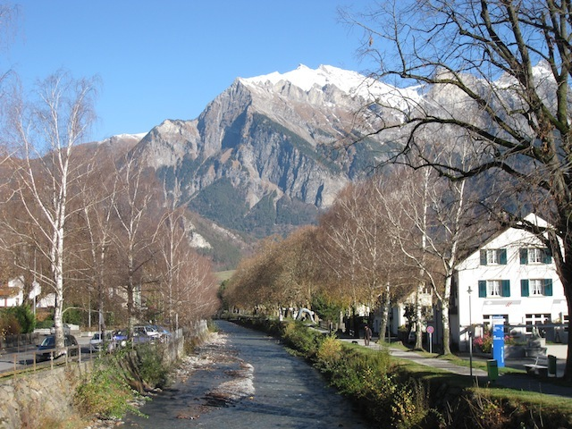 Bad Ragaz mountain